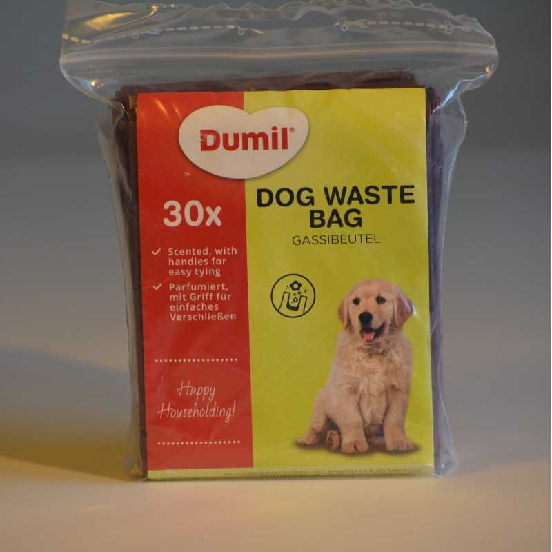 Scented dog waste bags