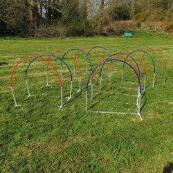 Aluminium Agility Hoopers