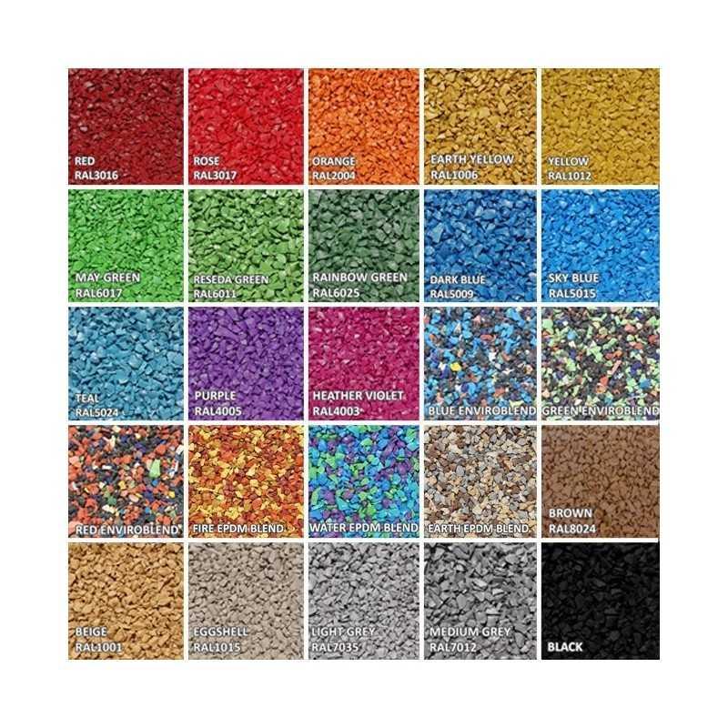Rubber Granules for A frame